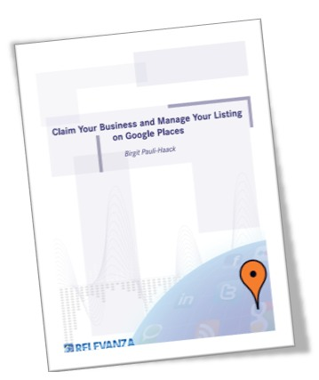 Book Cover: Claim Your Business On Google Places