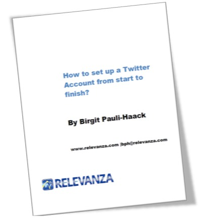 Book Cover: How to set-up Twitter Account