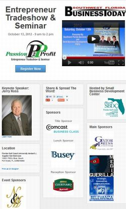Passion to Profit: 4th Annual Entrepreneurs Seminar and Trade Show