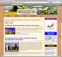 Immokalee Community Redevelopment Agency (ICRA) A Wholesome Approach to Branding